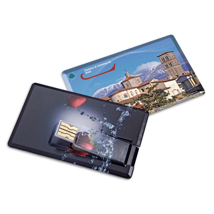MEMORIA  formato carta di credito cm.8,42x5,2x0,3 ART. CM-21